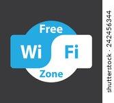 wifi | Shutterstock .eps vector #242456344