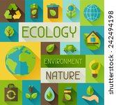 Ecology Background With...