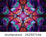 fractal geometry | Shutterstock . vector #242507146