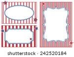 patriotic or celebration... | Shutterstock .eps vector #242520184