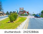 ayia napa  cyprus   august 1 ... | Shutterstock . vector #242528866