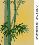 bamboo background with place... | Shutterstock .eps vector #24253870