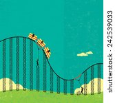 Support In A Roller Coaster...
