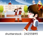 starting school | Shutterstock .eps vector #24255895