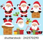 santa | Shutterstock .eps vector #242570290