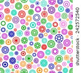 rainbow under microscope vector ...   Shutterstock .eps vector #242572540