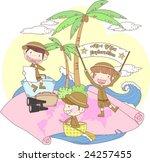 starting school | Shutterstock .eps vector #24257455