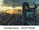 chemical installation  | Shutterstock . vector #242575030