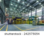 chemical factory. packing area | Shutterstock . vector #242575054