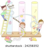 starting school | Shutterstock .eps vector #24258352