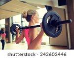 fitness  sport  powerlifting... | Shutterstock . vector #242603446