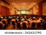 blur abstract background ... | Shutterstock . vector #242631790