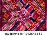 thai fabric texture   Shutterstock . vector #242648656