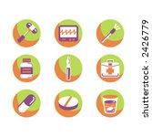 exclusive series of medicine... | Shutterstock .eps vector #2426779