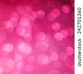 Pink Blurred Light Background...