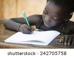 schooling symbol   african... | Shutterstock . vector #242705758