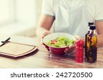 cooking and home concept  ... | Shutterstock . vector #242720500