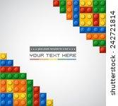 template of gloss symmetric...   Shutterstock .eps vector #242721814