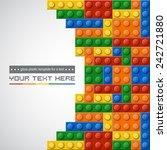 template of gloss symmetric...   Shutterstock .eps vector #242721880