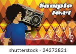 template flyer for party ... | Shutterstock .eps vector #24272821