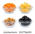 Collection Of Dried Fruit In A...