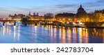 Seine River And Old Town Of...