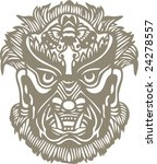 vector of traditional ancient... | Shutterstock .eps vector #24278557
