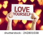 Love Yourself Card With Heart...