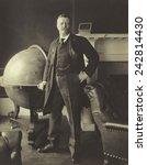 president theodore roosevelt ...   Shutterstock . vector #242814430