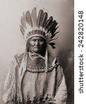 geronimo  1829 1909  ... | Shutterstock . vector #242820148