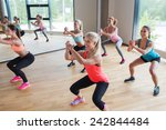 fitness  sport  training ... | Shutterstock . vector #242844484