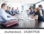 business meeting | Shutterstock . vector #242847928