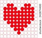 vector illustration  seamless... | Shutterstock .eps vector #242874400