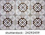 detail pattern of portuguese... | Shutterstock . vector #24292459