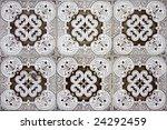 detail pattern of portuguese... | Shutterstock . vector #24292459