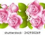 vertical seamless background... | Shutterstock . vector #242930269