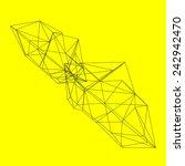 abstract geometric shape | Shutterstock .eps vector #242942470
