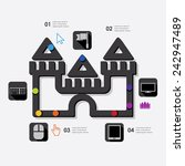 game infographic | Shutterstock .eps vector #242947489