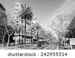 barcelona  spain   mar 15  2014 ... | Shutterstock . vector #242955514