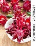 Small photo of fresh roselle flower