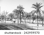 barcelona  spain   mar 15  2014 ... | Shutterstock . vector #242959570