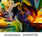 colors of the mind series.... | Shutterstock . vector #242964730