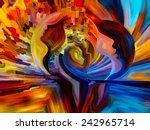 colors of the mind series.... | Shutterstock . vector #242965714