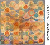 Abstract Circles Design With...