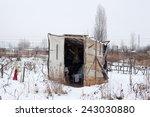 Temporary Self Made Shelter...