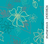 seamless aloha pattern | Shutterstock .eps vector #24303826