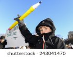 new york city   january 10 2015 ... | Shutterstock . vector #243041470