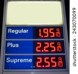 Sign Of Gas Prices