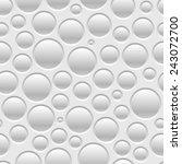 gray seamless pattern of air... | Shutterstock .eps vector #243072700