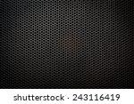 speaker grill texture | Shutterstock . vector #243116419